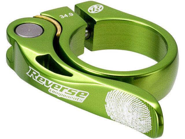Reverse Long Life Saddle Clamp 34,9mm light green